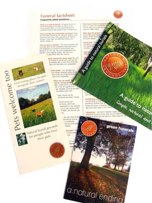 Natural Burial Leaflets