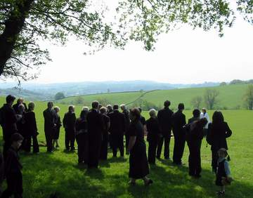 Natural Burial - Usk Castle Chase